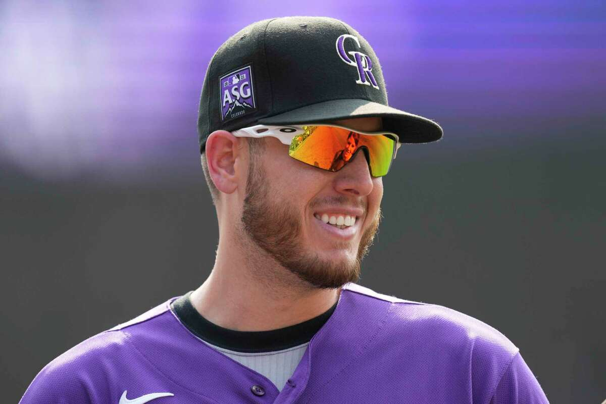 Rockies first baseman C.J. Cron had plenty to smile about Sunday after setting one franchise record with this third grand slam of the season and tying another with 13 RBIs in a three-game series.