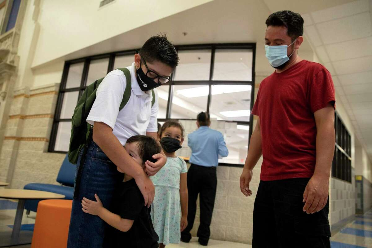 Students begin the school year in masks - for now. As another school year, and another emotional roller coaster, begins..