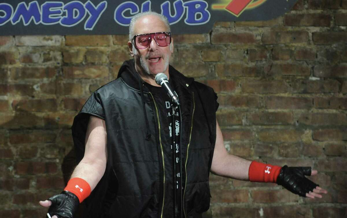 Andrew Dice Clay performs at The Stress Factory Comedy Club in 2019 in New Jersey.