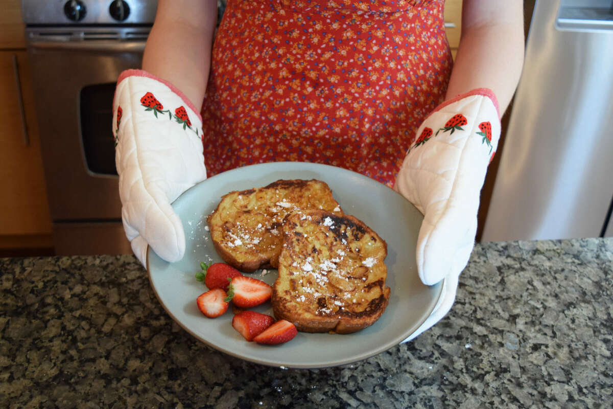 Paris Hilton's French toast recipe turned out pretty delicious.