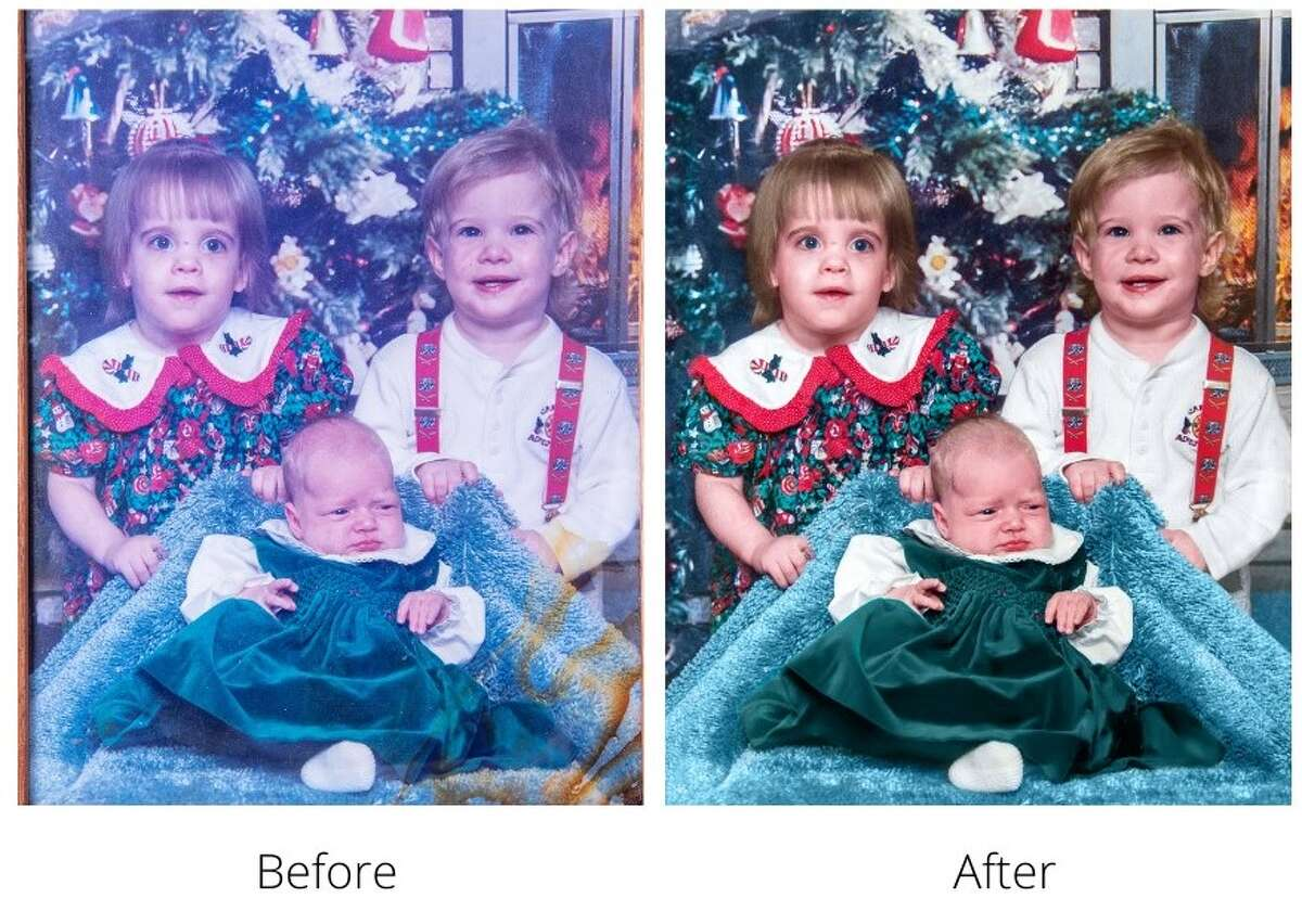 Bayou City Photography in Deer Park has added a restoration service for old or damaged photos.