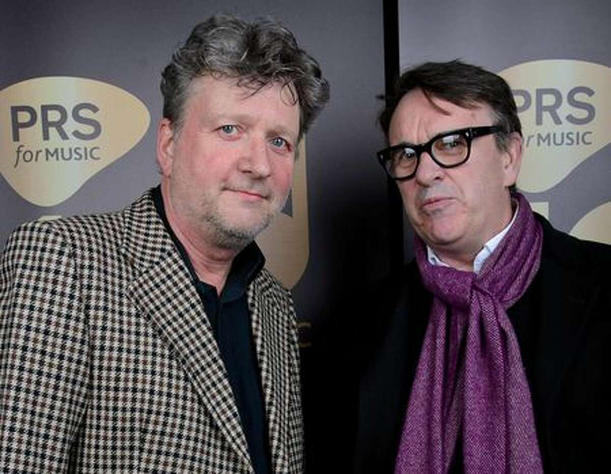 Glenn Tilbrook, left, and Chris Difford of Squeeze. (Getty Images)