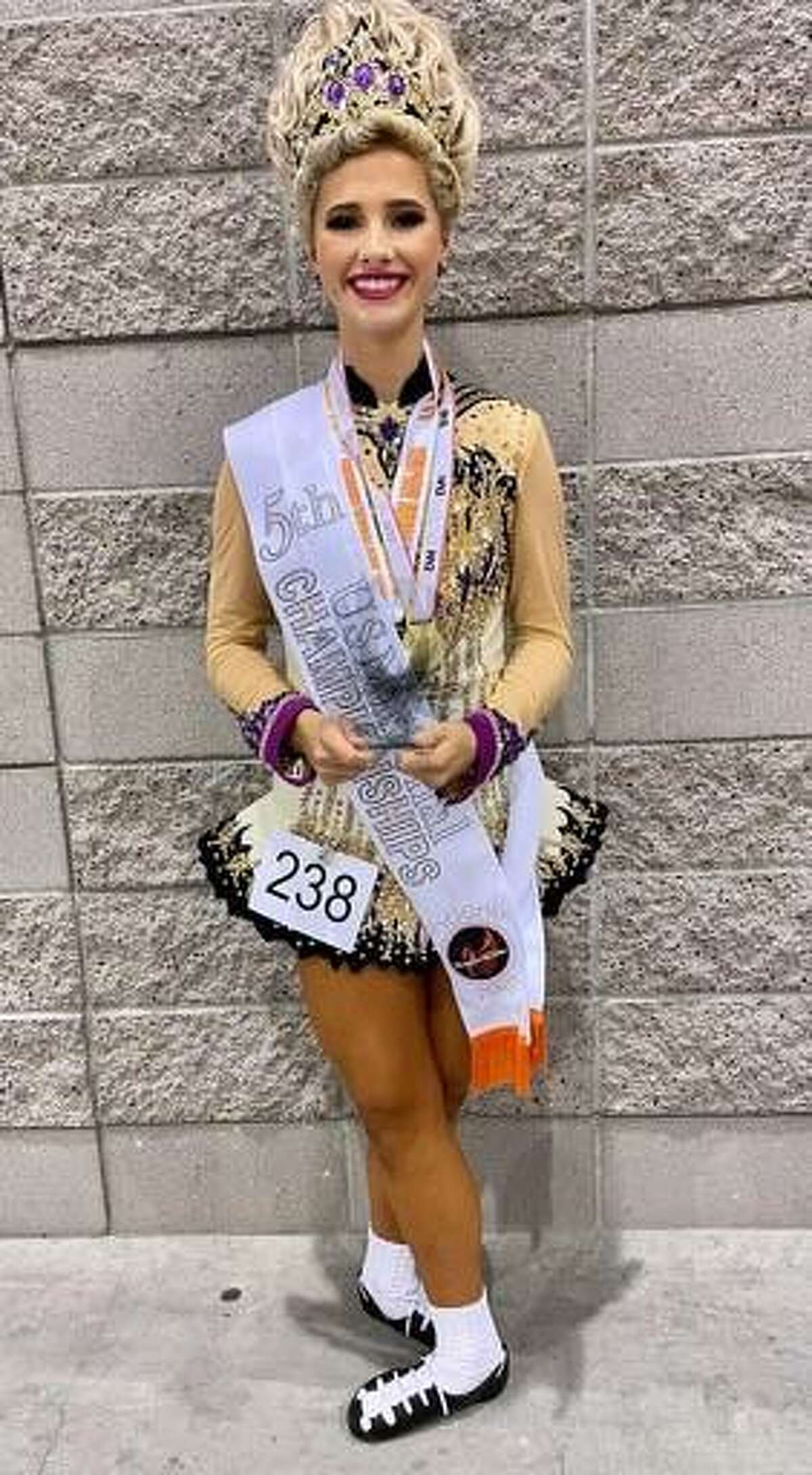 Stamford resident Erin Dixon finished fifth in the under-16 category at the National Irish Dance Championships in July.