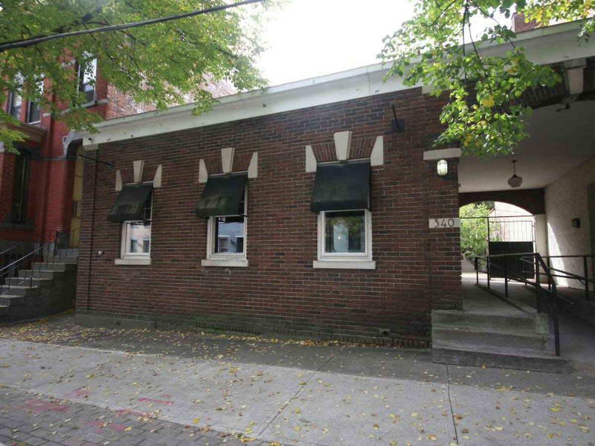 The building 340 Hamilton St., in Albany's Park/South neighborhood, has a courtyard for dining. Previously home to Mezzo Marketplace and, before that, Unlimited Feast, the space, vacant for a dozen years, will soon open as an Italian-American spot called Belt Line 3 Restaurant & Bar. (Provided photo)