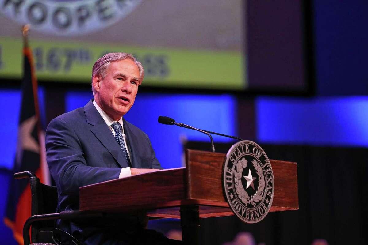 Texas Gov. Greg Abbott, facing a reelection battle next year, has prohibited mask mandates. (Aaron E. Martinez/Austin American-Statesman/TNS)