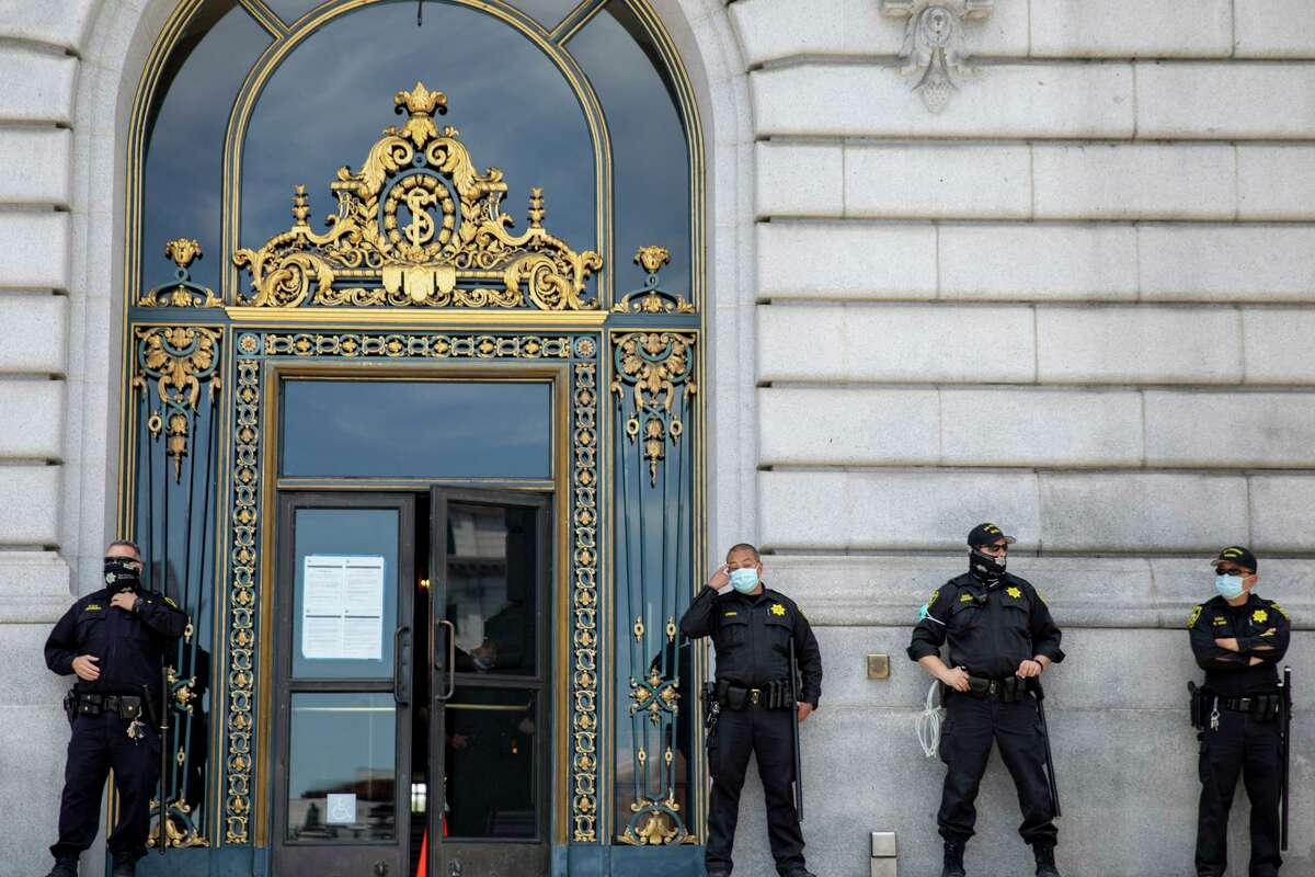 S.F. is moving to suspend 20 employees in the Police, Fire and Sheriff's departments who refused to disclose their COVID vaccination status. According to the Department of Human Resources, the city is recommending a 10-day unpaid suspension.