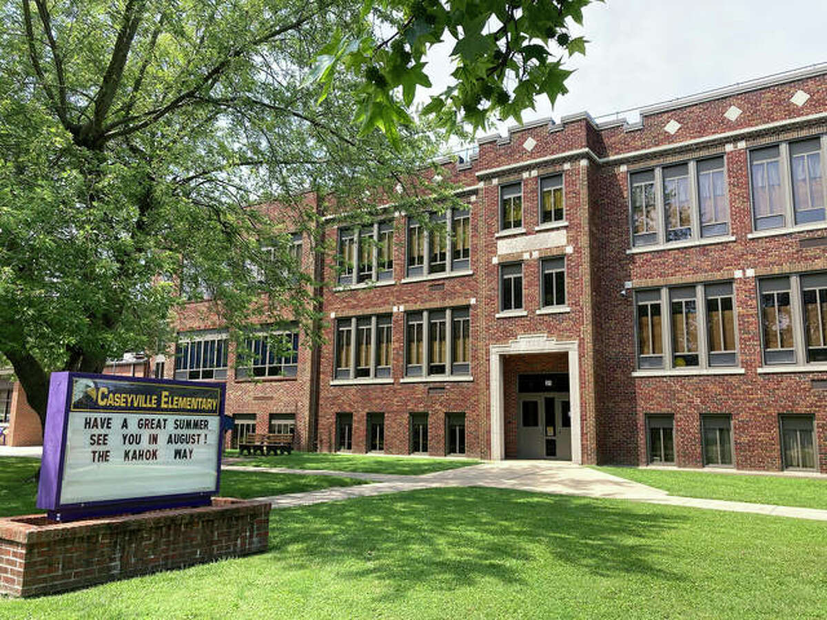 Caseyville's current elementary school dates back to 1935. The original front entrance is no longer used as such since it does not align with current school safety and security standards.