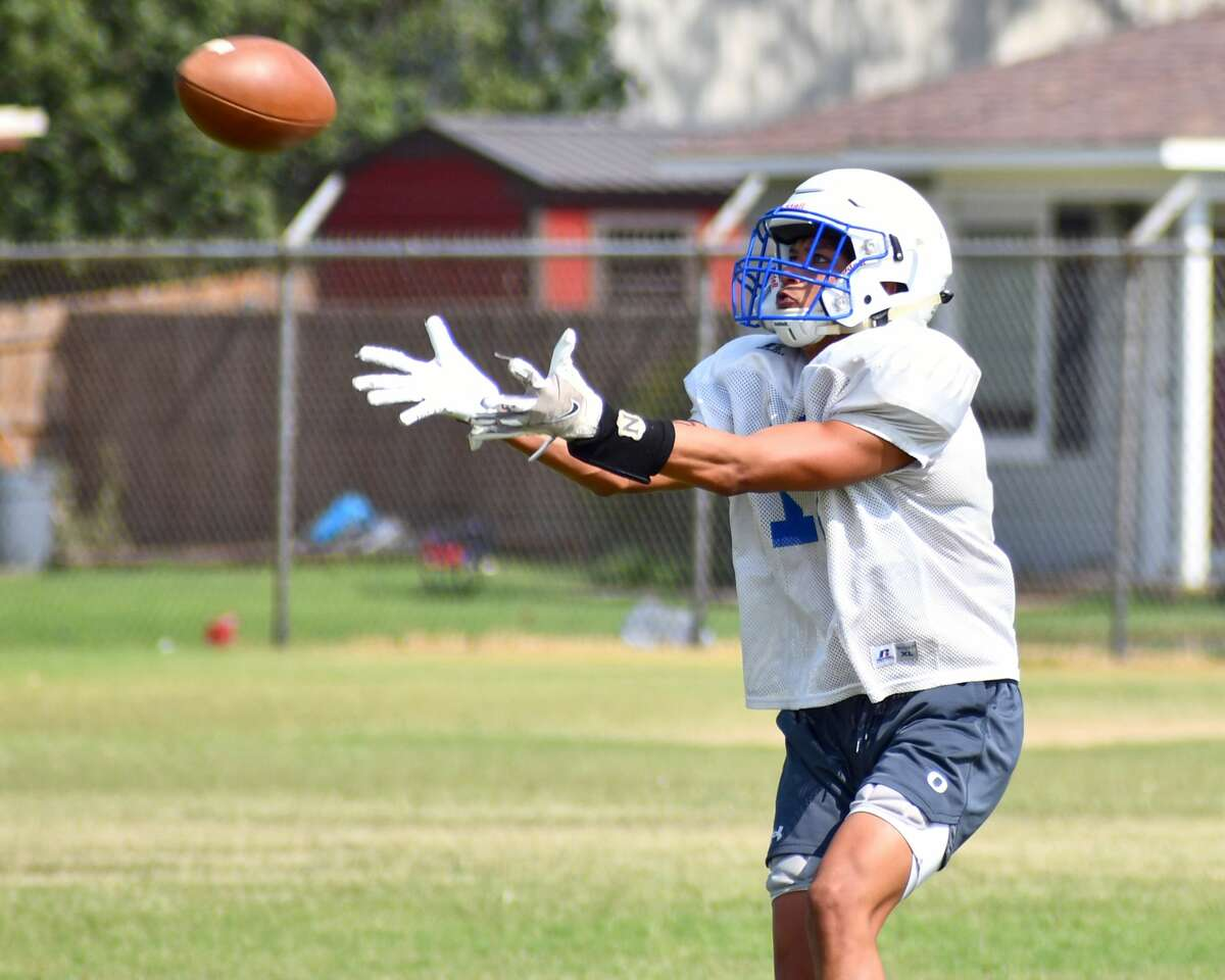 The Olton football team continued preseason preparations during practice on Monday afternoon.