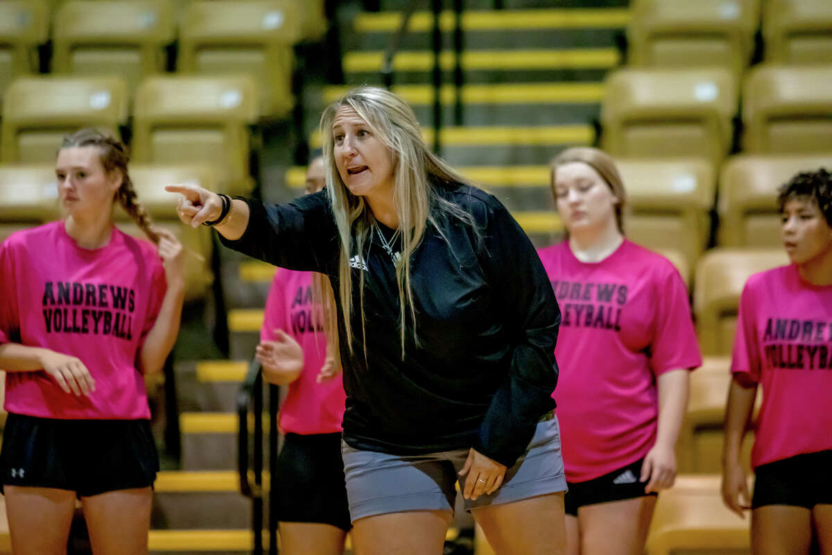 First-year Andrews volleyball coach Jessica Campbell. Photo courtesy of Andrews ISD.