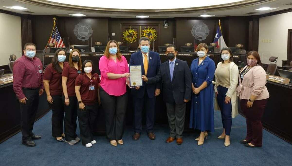 """The City of Laredo announced on Monday that the month of August would be """"Breastfeeding Awareness Month."""""""