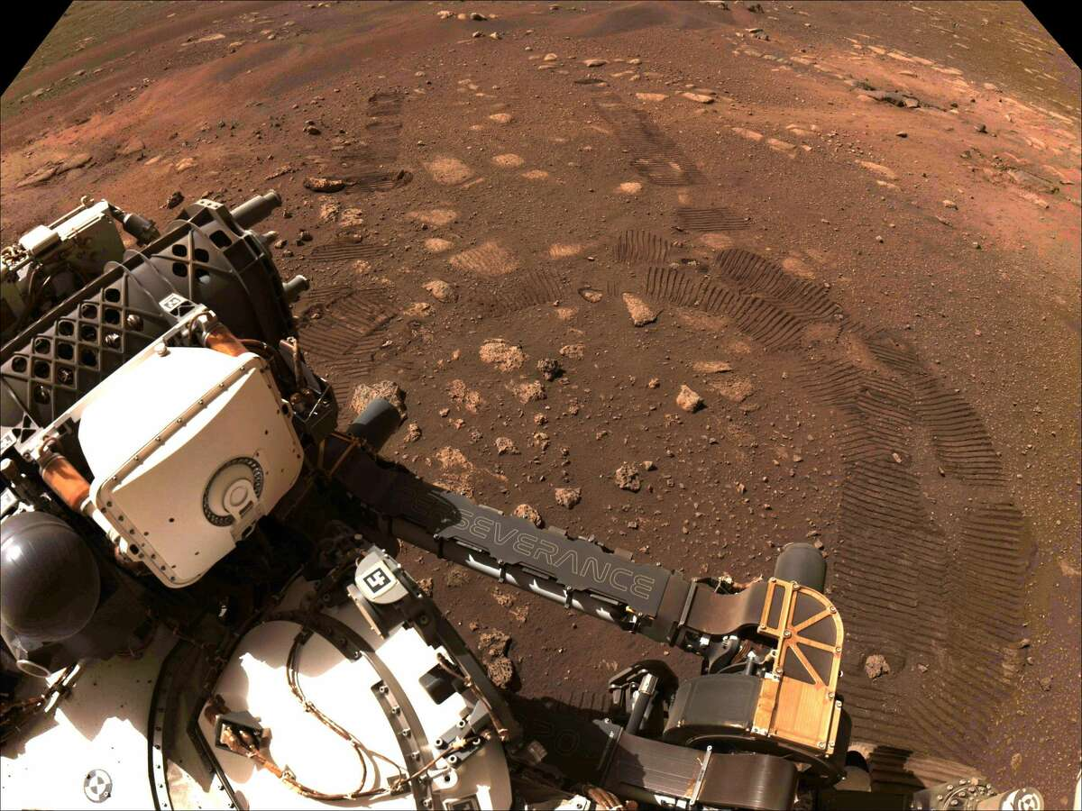 Perseverance's mission on Mars is astrobiology, including the search for signs of ancient microbial life. The rover will characterize the planet's geology and past climate, pave the way for human exploration of the Red Planet, and be the first mission to collect and cache Martian rock and regolith (broken rock and dust).