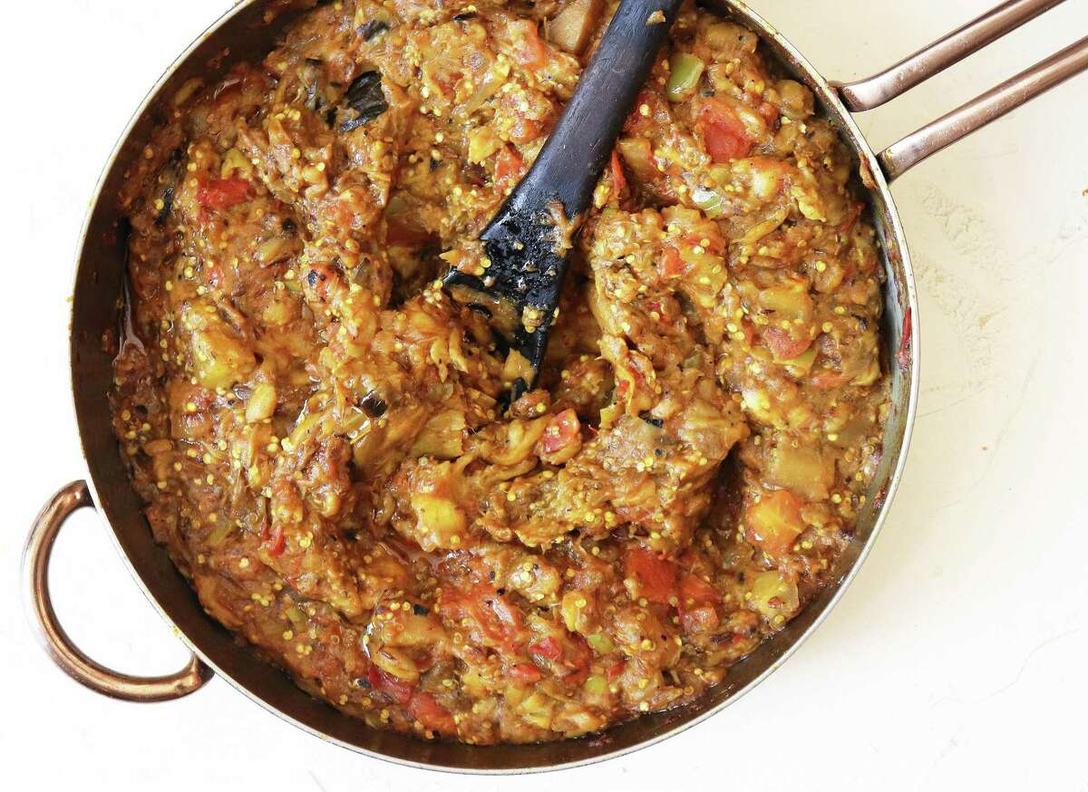 Boronia is a Colombian eggplant dish featuring smoked eggplant and plantains.