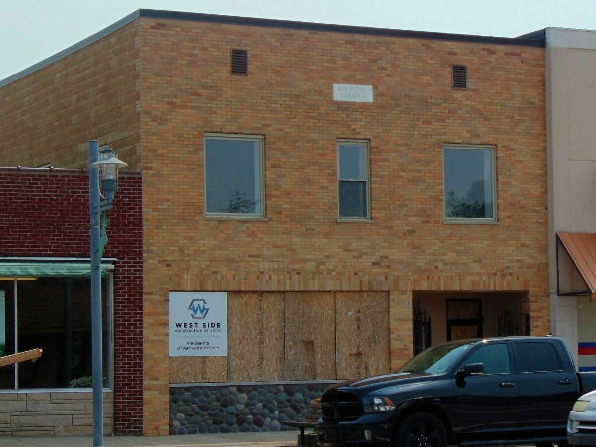 What was once a masonic lodge, will bring more jobs, business and housing to downtown Baldwin through a mixed-use redevelopment project. (Star photo/Shanna Avery)