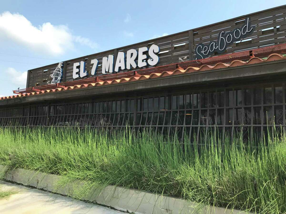 El Siete Mares Seafood Restaurant is located at 3831 W. Commerce St.