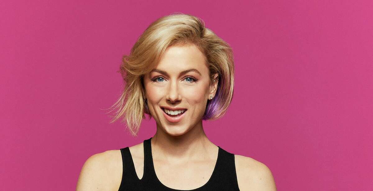 """Comedian Iliza Shlesinger is bringing her """"Back in Action"""" tour to the Tobin Center for the Performing Arts."""