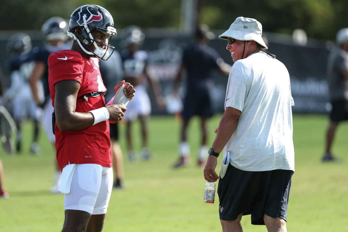 Deshaun Watson is not expected to play for the Texans again but David Culley may have to keep a roster spot open for Watson if he can't be traded by Tuesday afternoon or isn't put on the commissioner's exempt list.