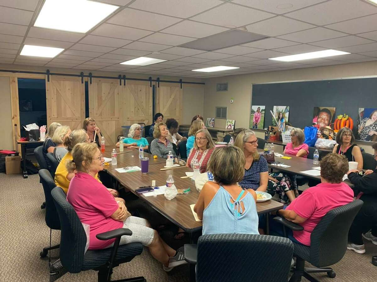 Cy-Fair Women's Club regularly collaborates with Reach Unlimited, including volunteering. The Reach Unlimited greenhouse and joint efforts to benefit the community.