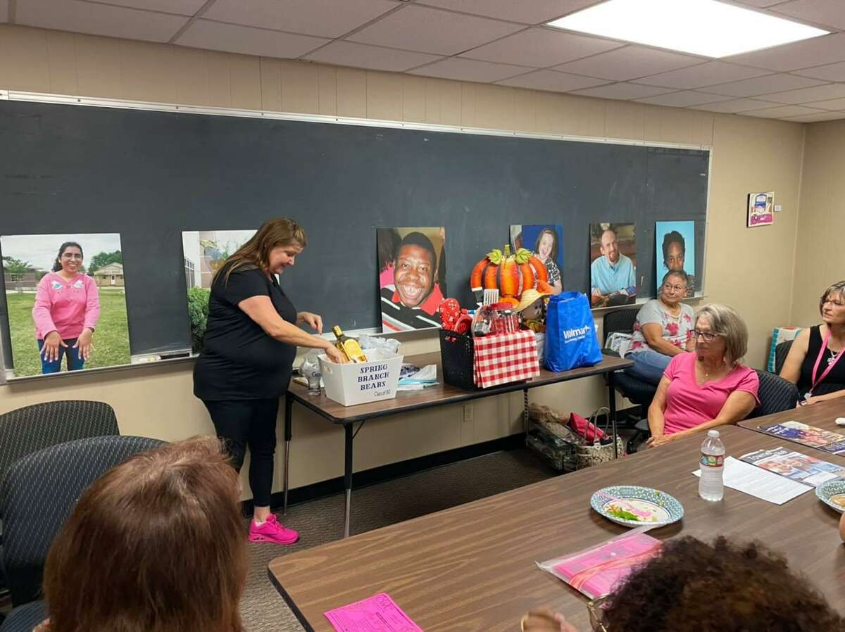 Cy-Fair Women's Club regularly collaborates with Reach Unlimited, including volunteering. The Reach Unlimited greenhouse and joint efforts to benefit the community