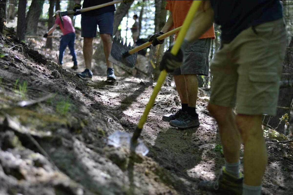 From 1-6 p.m. Friday, Consumers Energy is hosting an event at Mecosta County's Brower Park to celebrate the Consumers Energy Foundation $200,000 grant and other partnerships bringing the Dragon Trail at Hardy Dam to life. (Photo courtesy of Michigan's Dragon Trail)