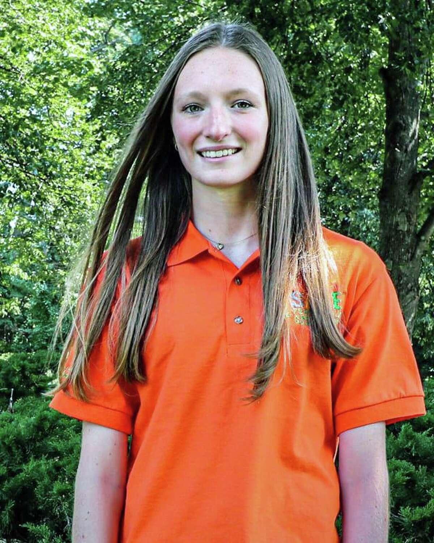Aislinn Burns, Jonathan Law High School, Milford, CT, a member of Sandy Hook Promise's 2021-2022 National Youth Advisory Board.