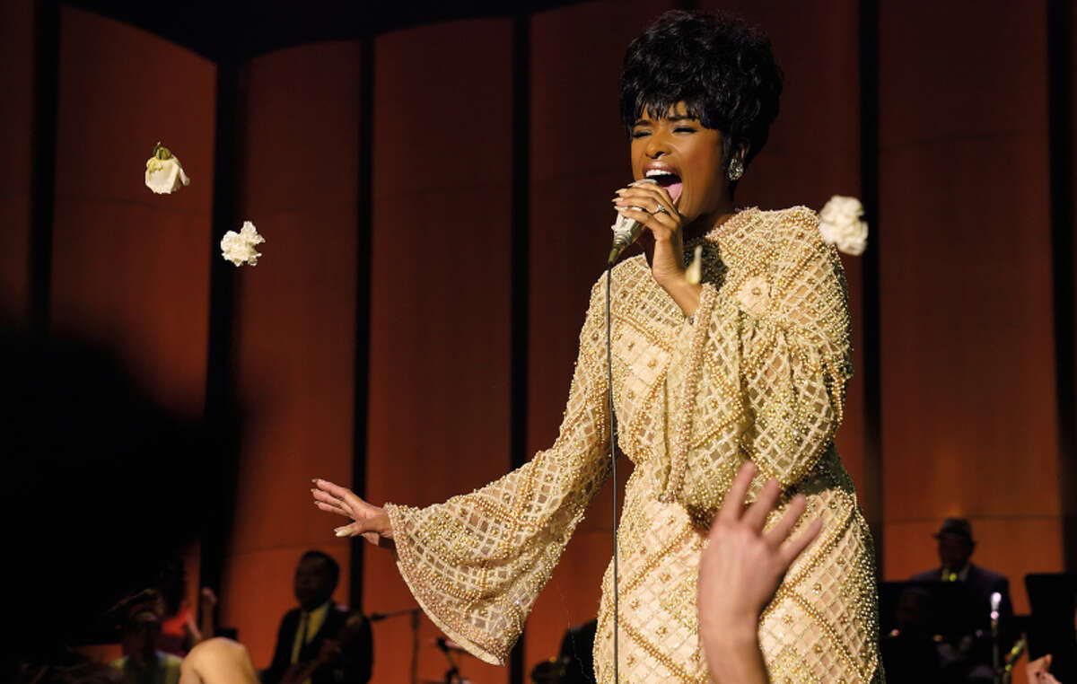 """Jennifer Hudson, already a supporting actress Oscar winner for """"Dreamgirls,"""" is sure to garner lead actress attention from the Academy for her portrayal of Aretha Franklin in """"Respect,"""" a role for which she was handpicked by none other than Franklin herself."""