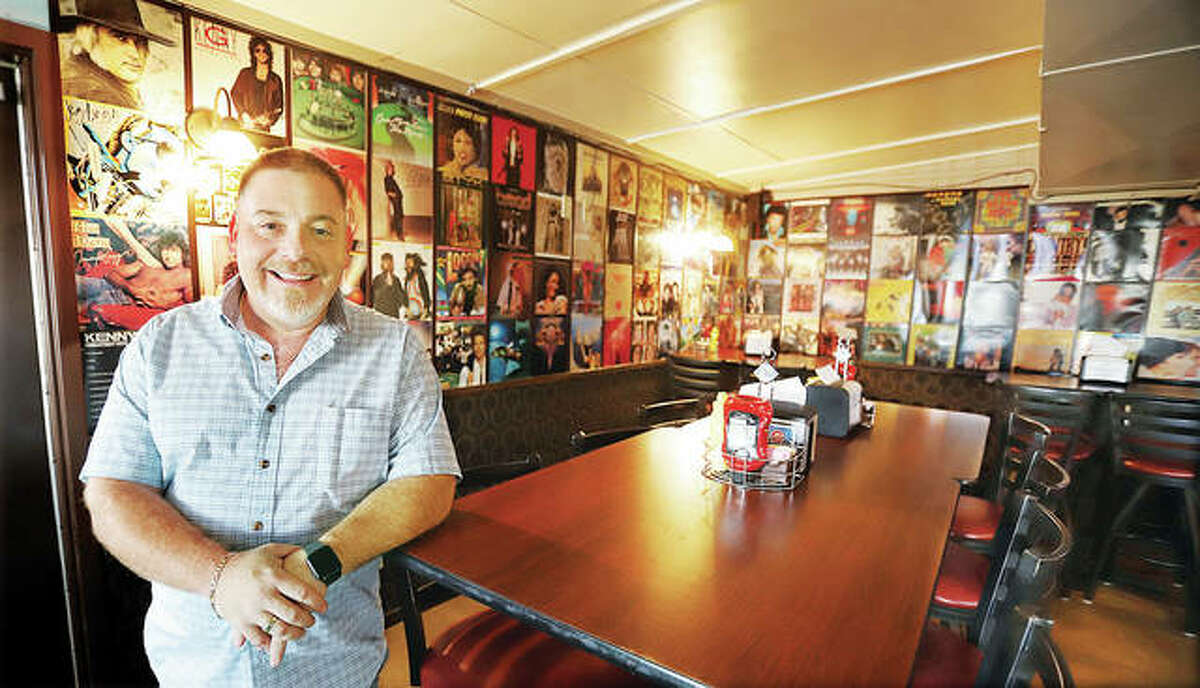 Michael Martin, the owner of Martin's Tunes & Eats on 6th Street in Wood River, plans to pay tribute to the Chico's Bar and Grill that was well known at the location through its recipes and community involvement. - John Badman|The Telegraph