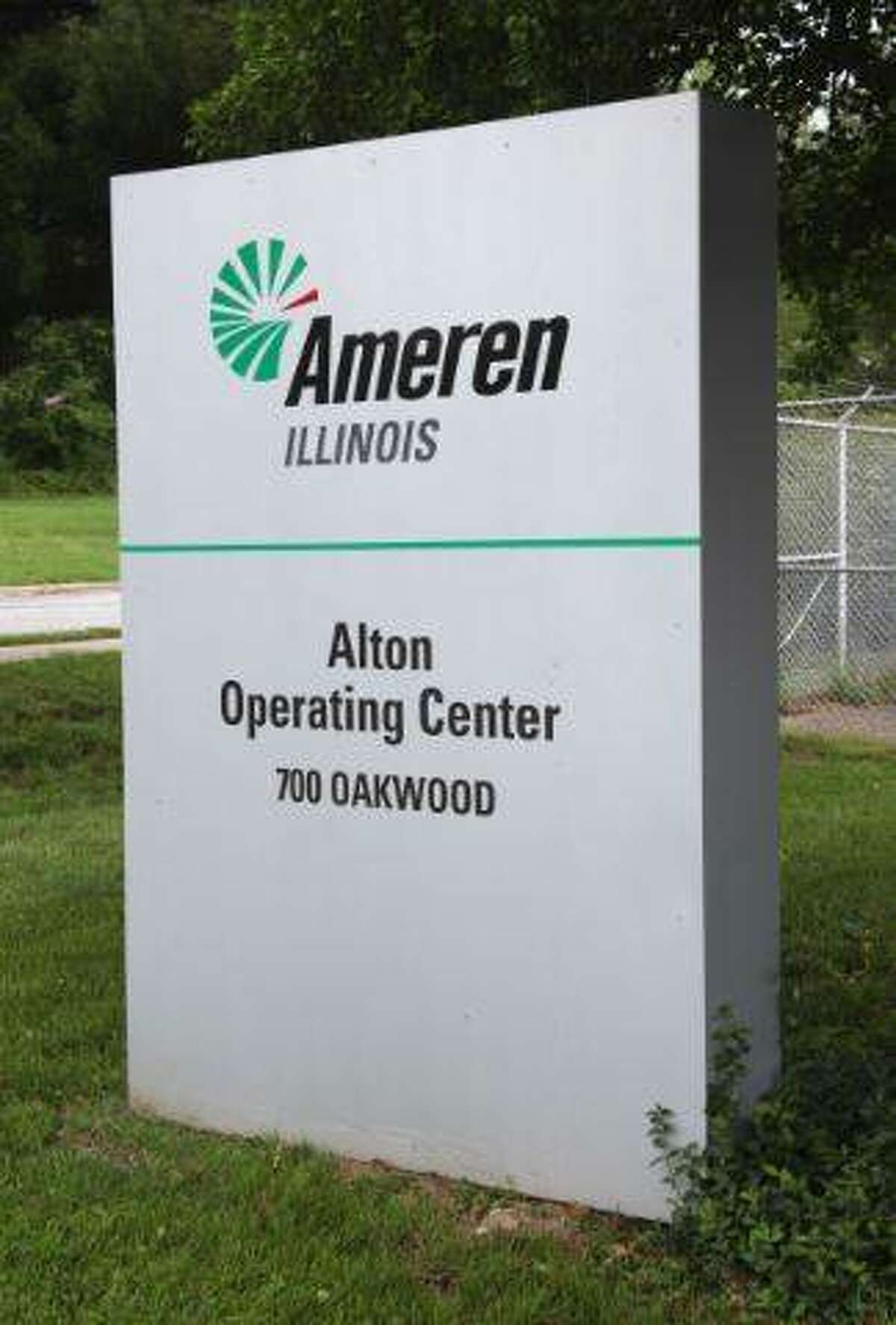 FILE - A photo of the Alton Operating Center for Ameren Illinois.
