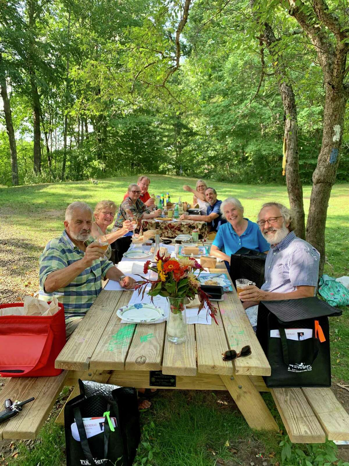 Flanders Nature Center is holding a farm to table dinner Aug. 22.