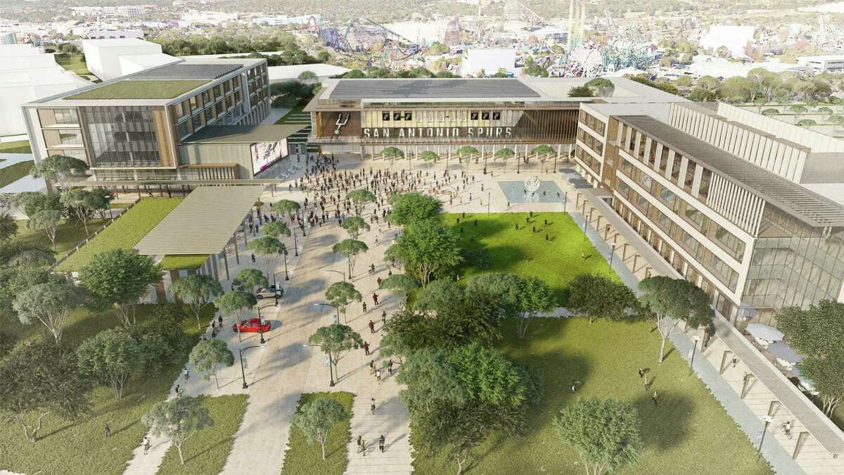 """Renderings of the """"human performance campus."""""""