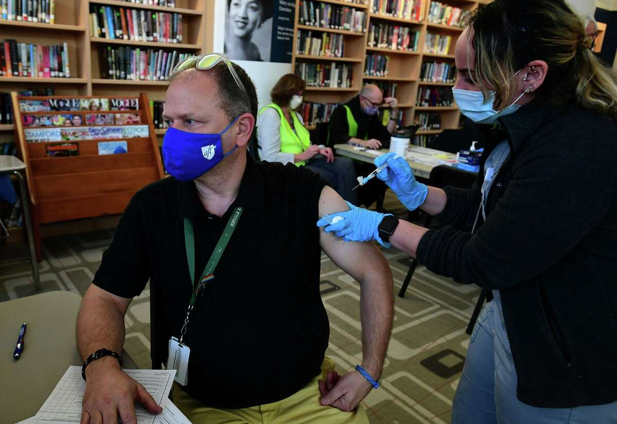 A large number of teachers in the Norwalk Public Schools got vaccinated against the coronavirus in March without a mandate. The Norwalk Federation of Teachers would want to negotiate any possible vaccine mandate considered by the district.