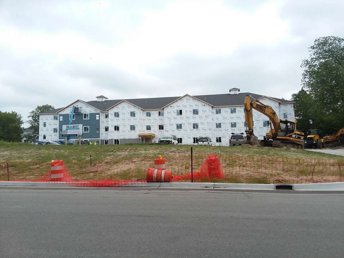 The Hillcrest Apartment development in Manistee broke ground in October 2020. According to a recent study, Manistee needs 582 rental units for people across all income groups. The current real estate market is making it difficult for residents to obtain rentals.