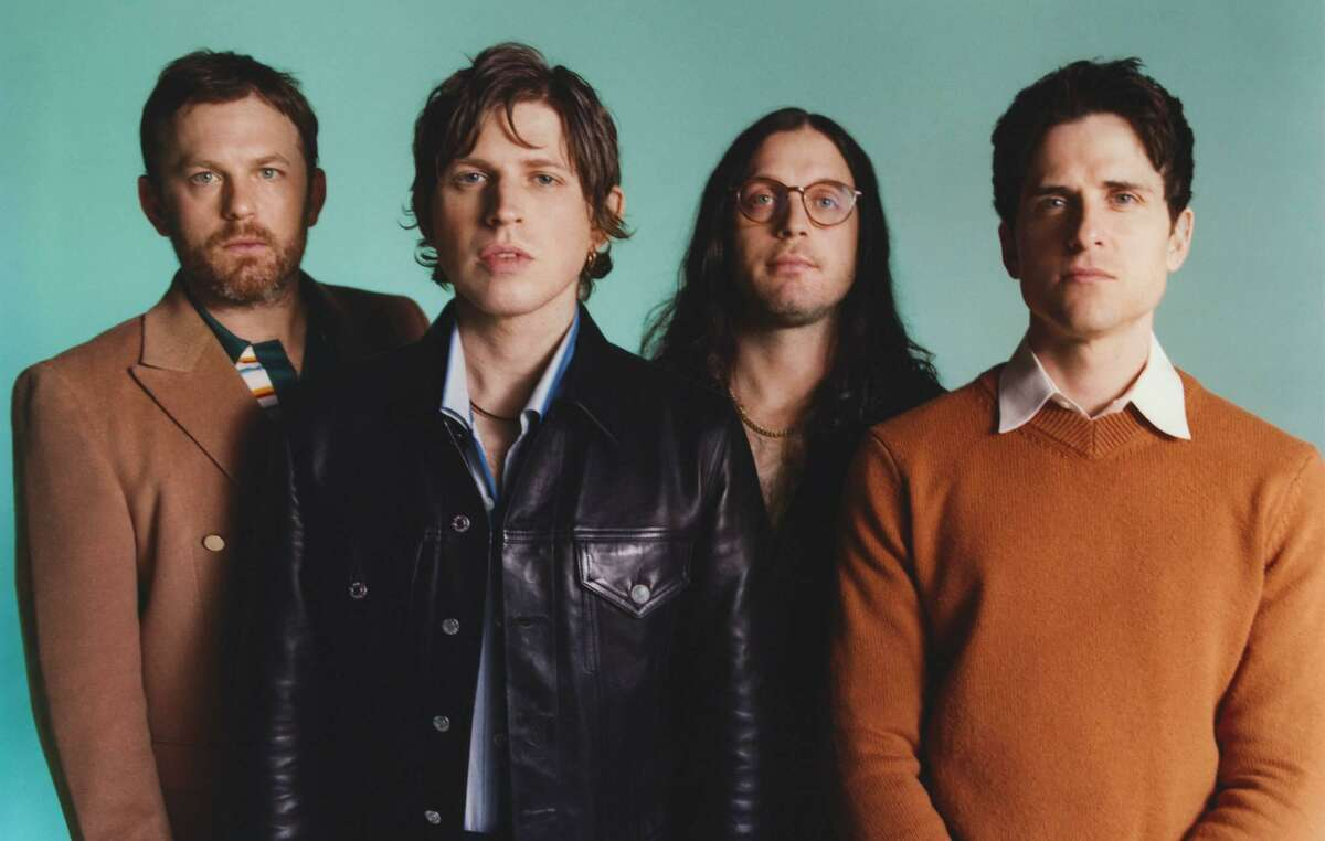 Kings of Leon are set to perform Aug. 17 at the Hartford Healthcare Amphitheater in Bridgeport.