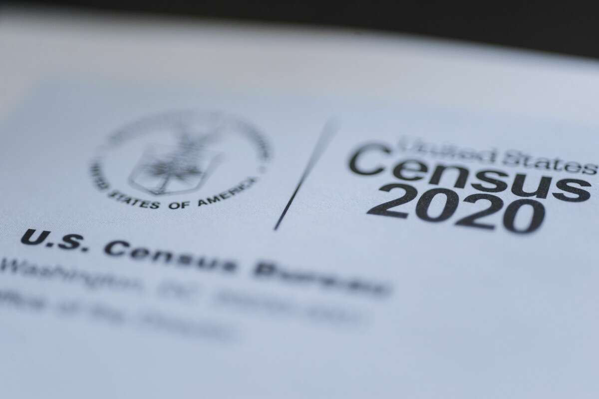 This March 18, 2020 file photo taken in Idaho shows a form for the U.S. Census 2020. (John Roark/The Idaho Post-Register via AP, File)