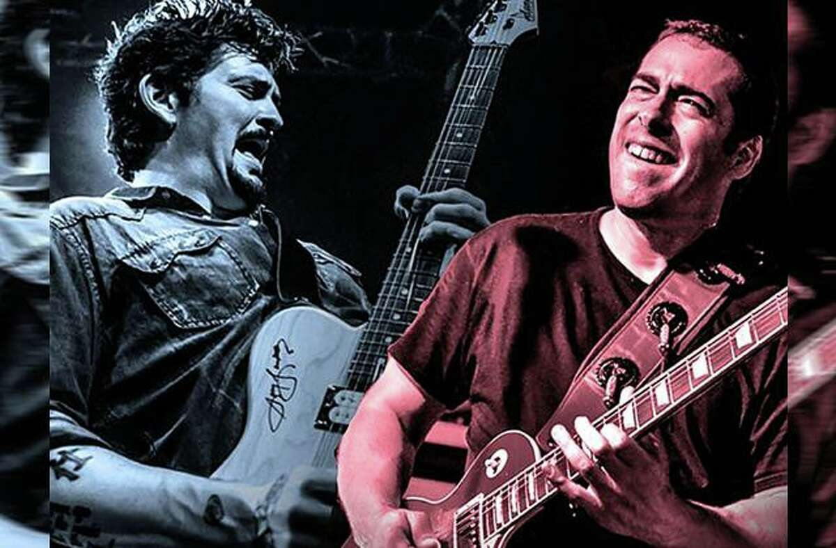 Mike Zito, right, and Albert Castiglia are performing Aug. 18 at the Kate in Old Saybrook.
