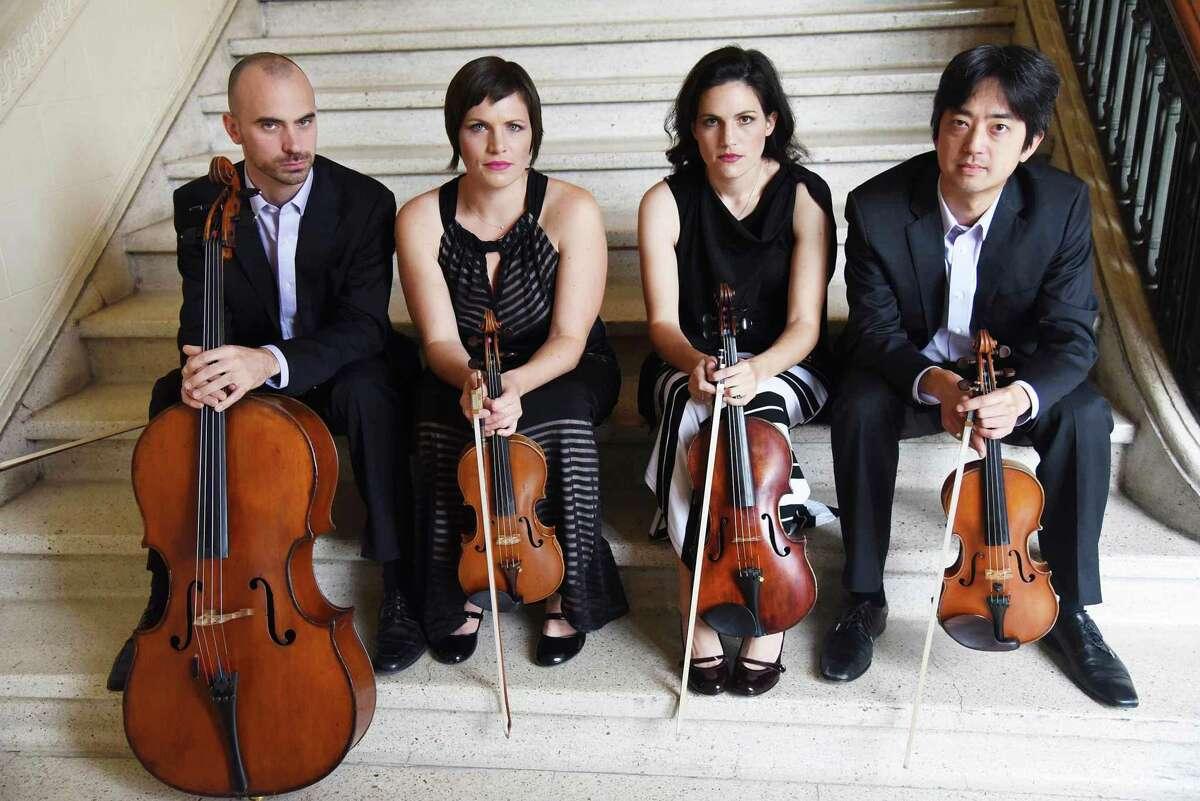 The Jupiter String Quartet performs Aug. 22, 2021 at Music Mountain in Falls Village.