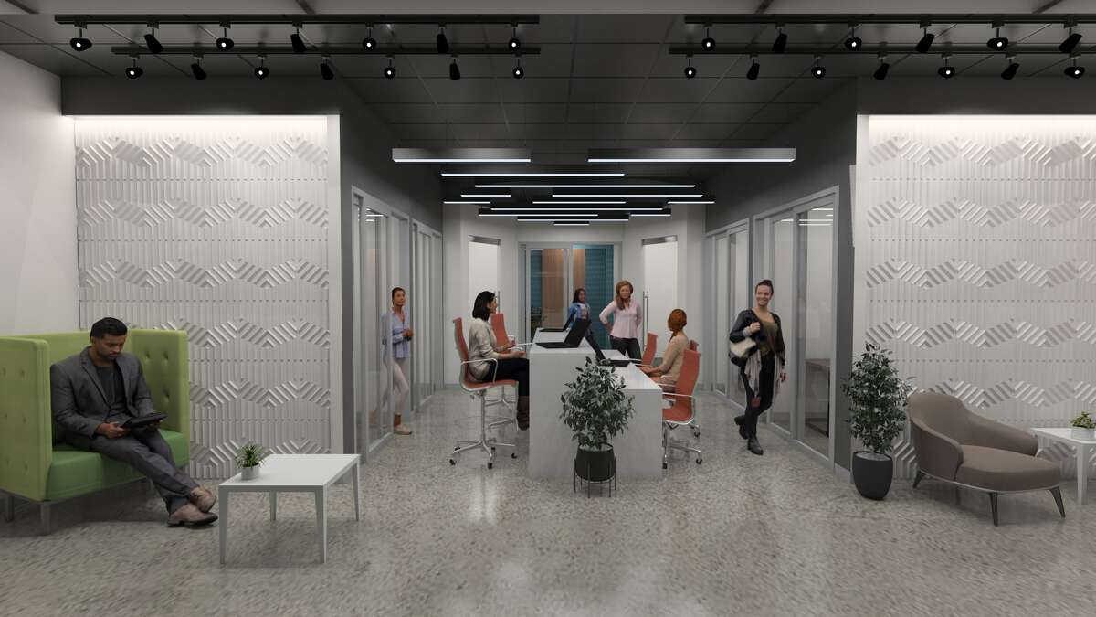 WorkSuites will open WorkTank, a sleek, outpost-style coworking pod, in the tunnel beneath the 1000 Mainbuilding.