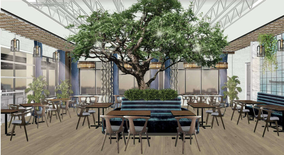 The dining room at the forthcoming Sea Smoke Waterfront Grill in Green Island, being developed to open late this year on the new Starbuck Island community. The owner, Jaime Ortiz, also owns 677 Prime in Albany, Toro Cantina in Colonie and Prime Burger and Shakehouse in Troy.