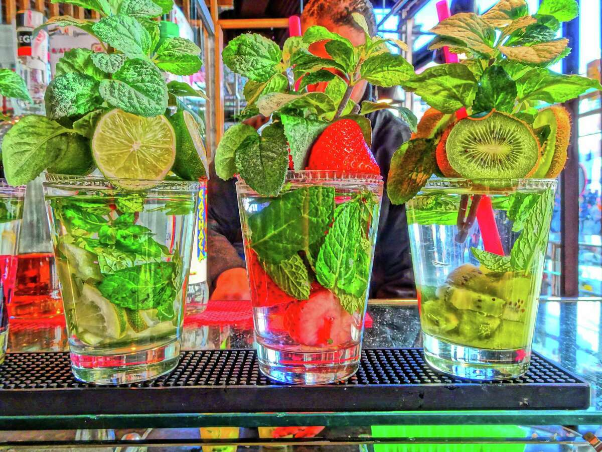Savor the dwindling weeks of summer with a mojito.