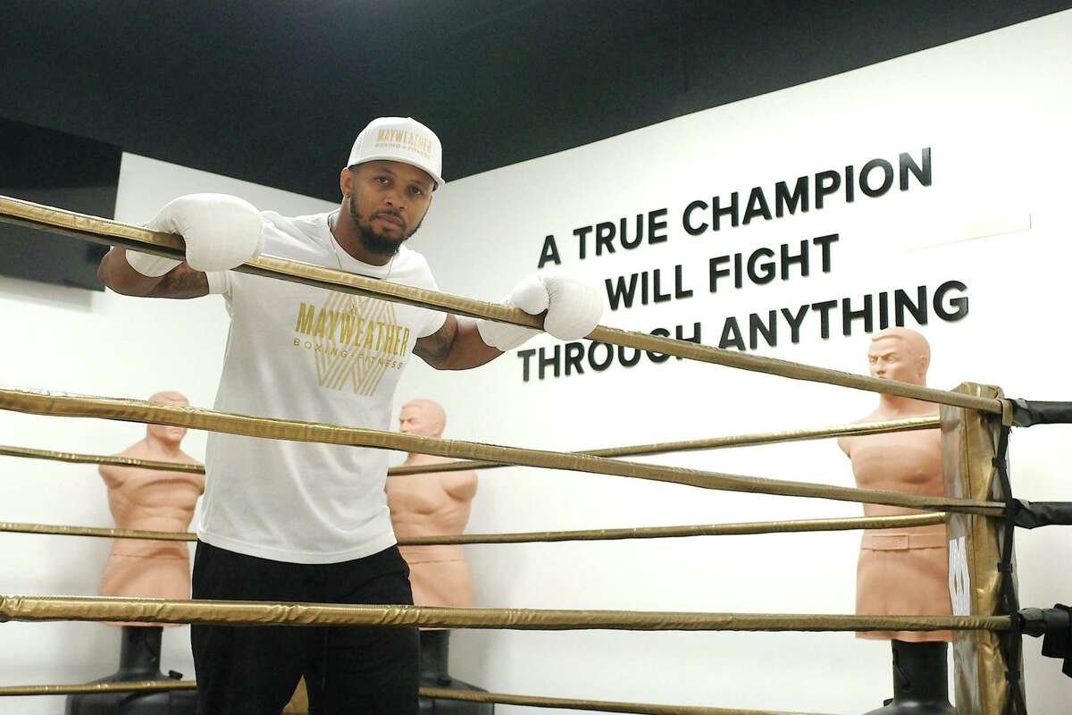"""""""We are different (from other gyms) because it's a combination of boxing and fitness,"""" Rogers said. """"The boxing rules our clients are learning are the same rules Floyd Mayweather used against his opponents."""""""