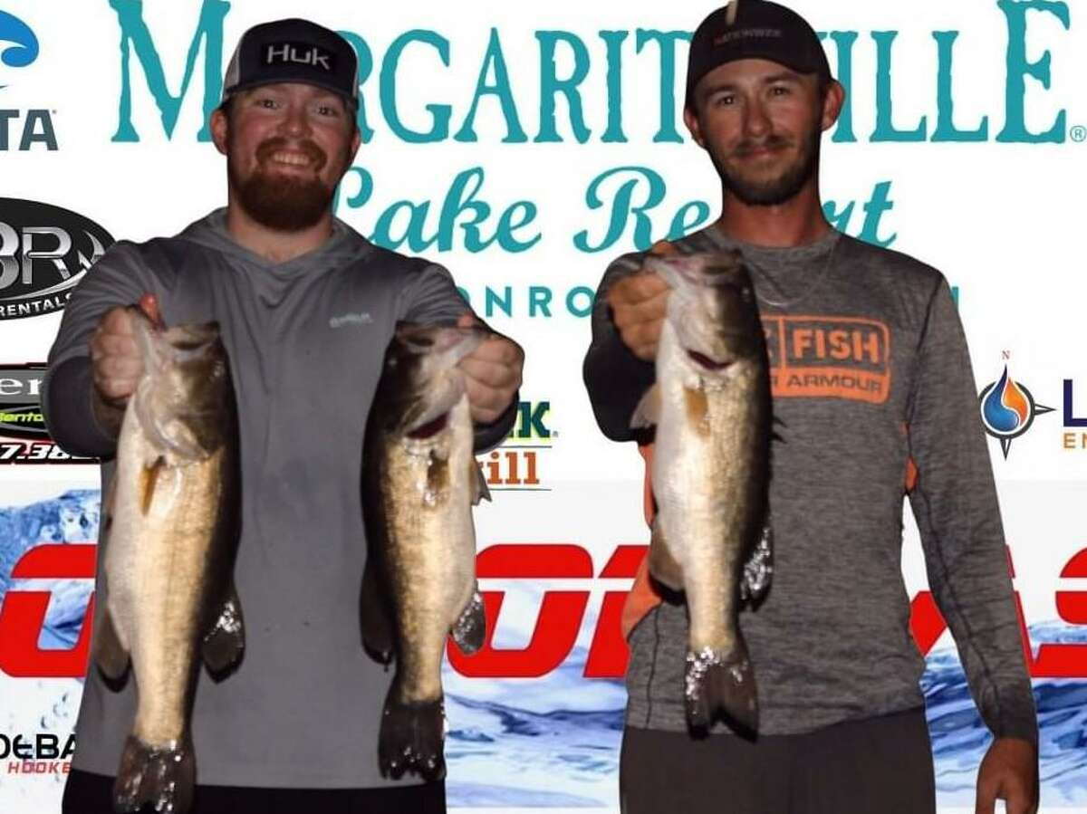 Wesley Baxley and Austin Woodell came in third place in the CONROEBASS Tuesday Tournament with a weight of 10.12 pounds.