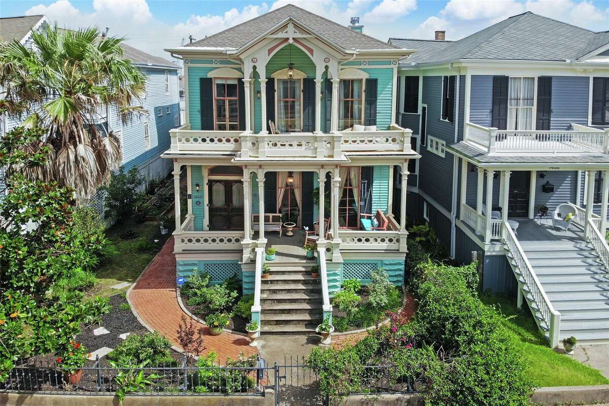 The house at 1412 Market St. was built in 1877 and is on the market now.