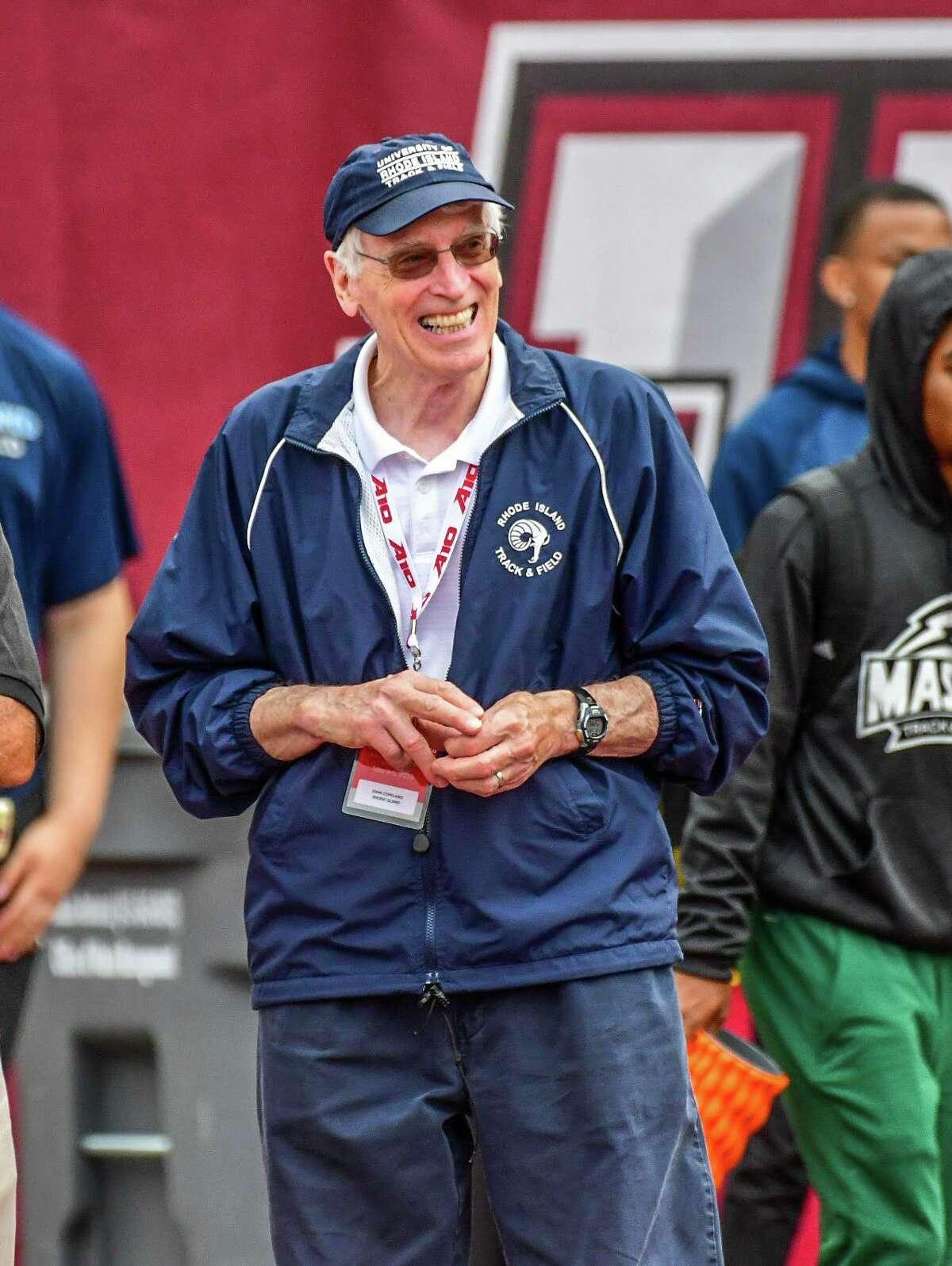 Rhode Island track and field coach John Copeland.