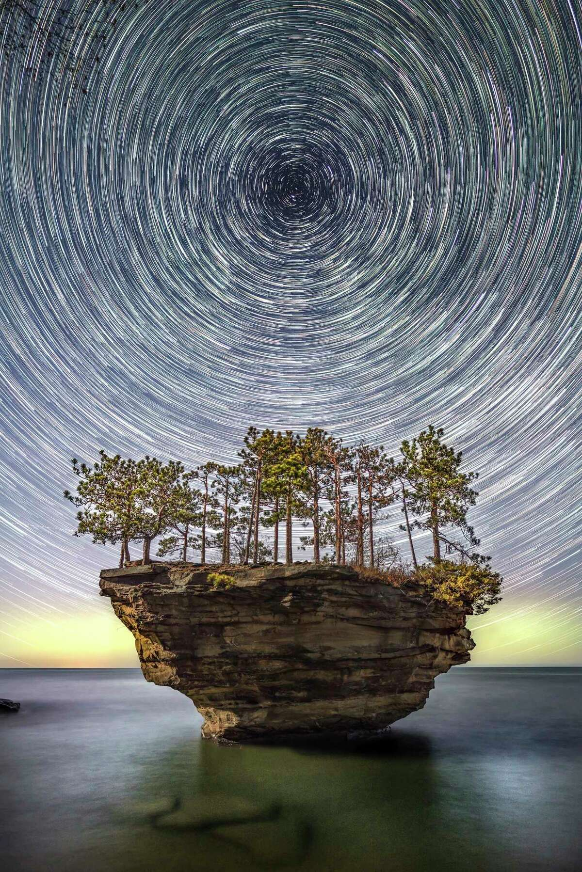 """Staff members from the Delta College Planetarium and Sunset Astronomical Society will be on hand for a """"Star Party"""" on Friday night at the Dark Sky Preserve at Port Crescent State Park. (Tribune File Photo)"""