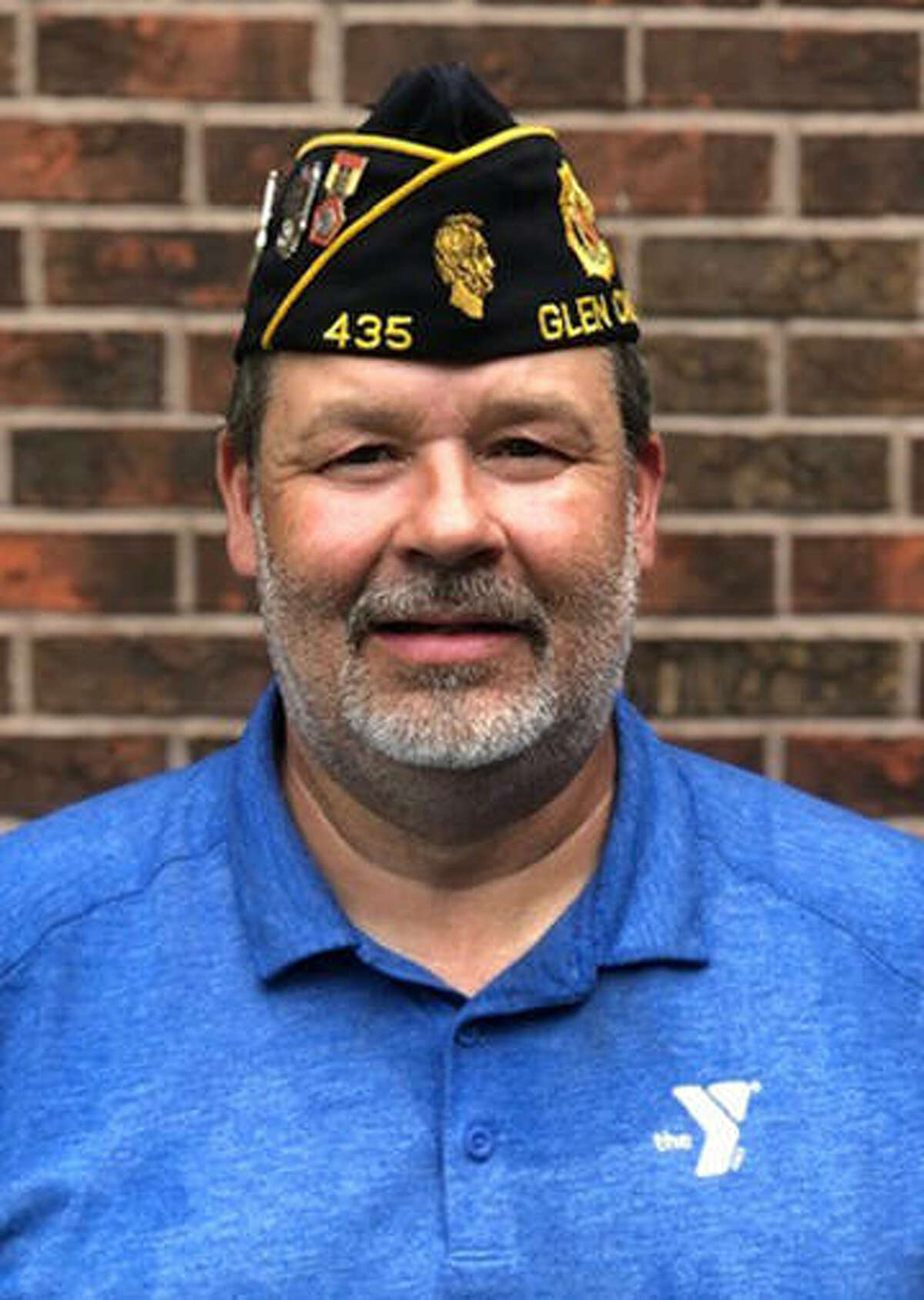 Steve Cox, commander of Glen Carbon American Legion Post 435