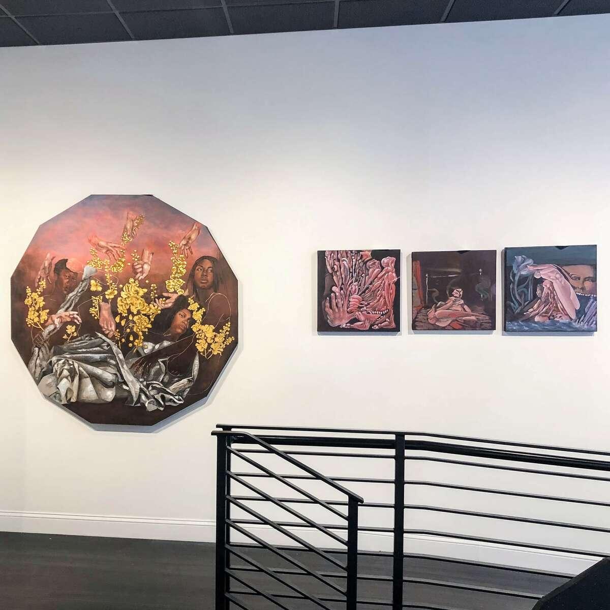 "Maryam Adib's work as showcased in ""Seen"""