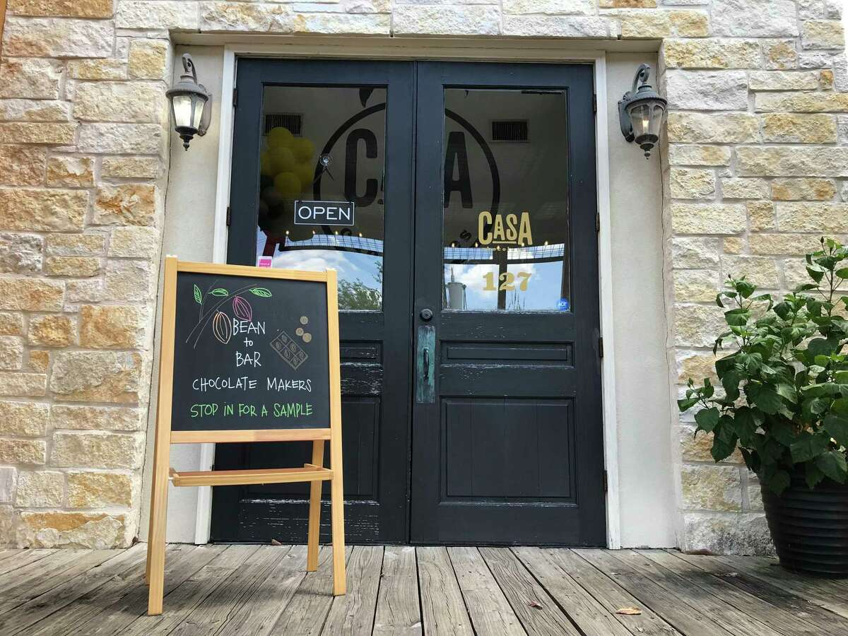 Casa Chocolates is located at 555 W. Bitters Road, Suite 127 in the Alley on Bitters.