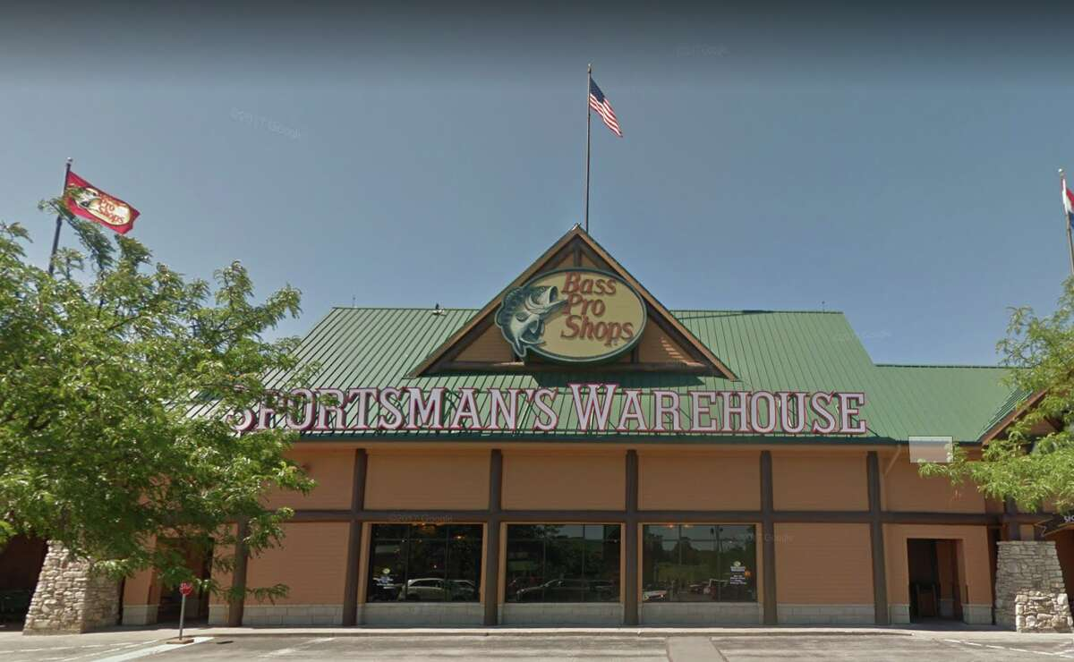 The Bass Pro Shop location in St. Charles, Missouri