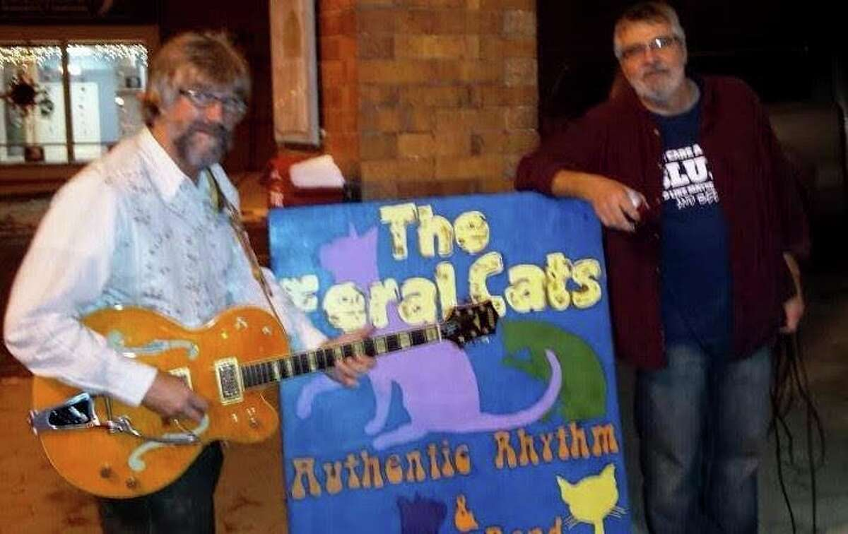 the Feral Cats will play at 7 p.m. on Mondayin the Onekama Village Park on M-22. (Courtesy photo)