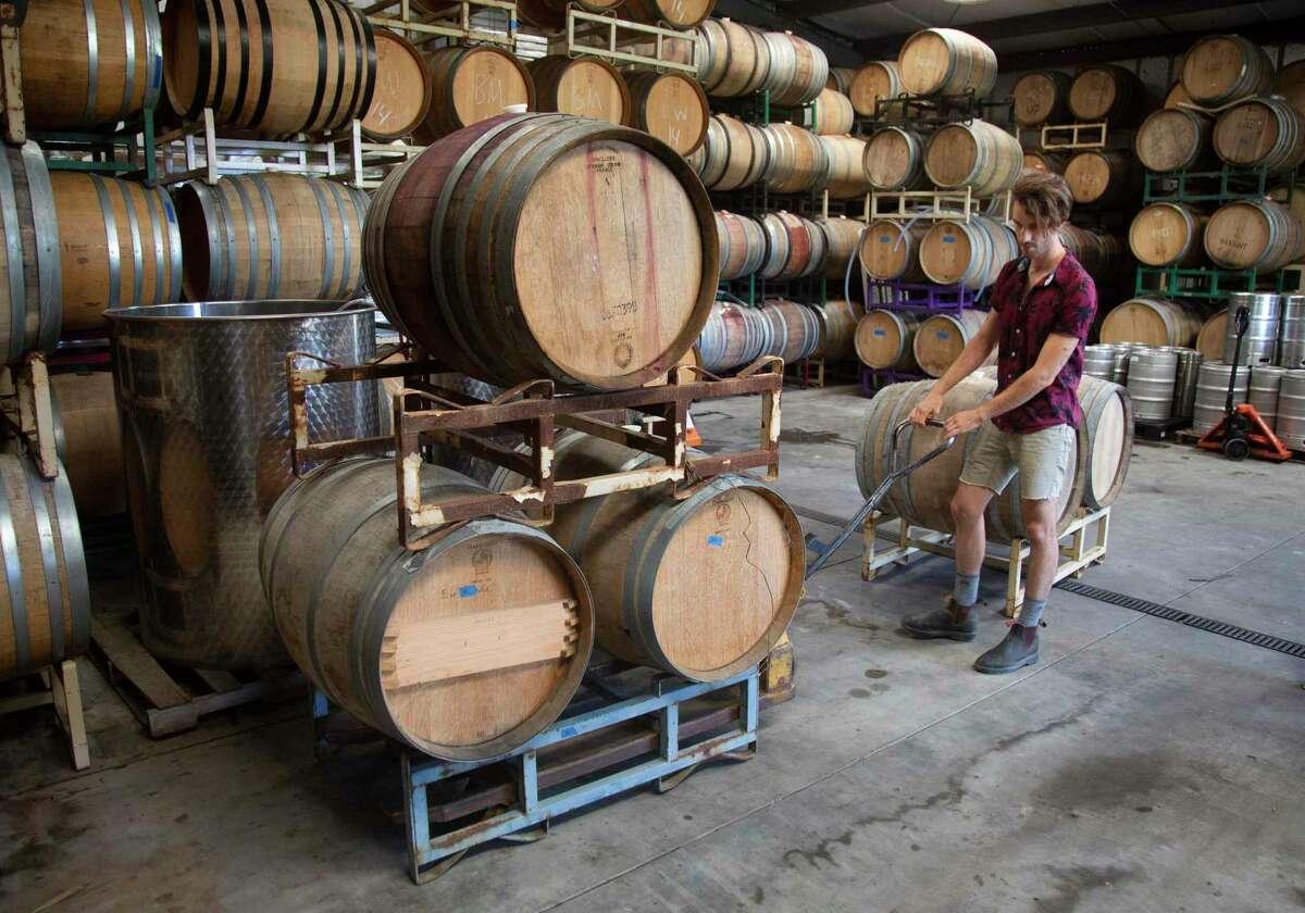 Winemaker Brent Mayeaux is a strict zero-zero winemaker.