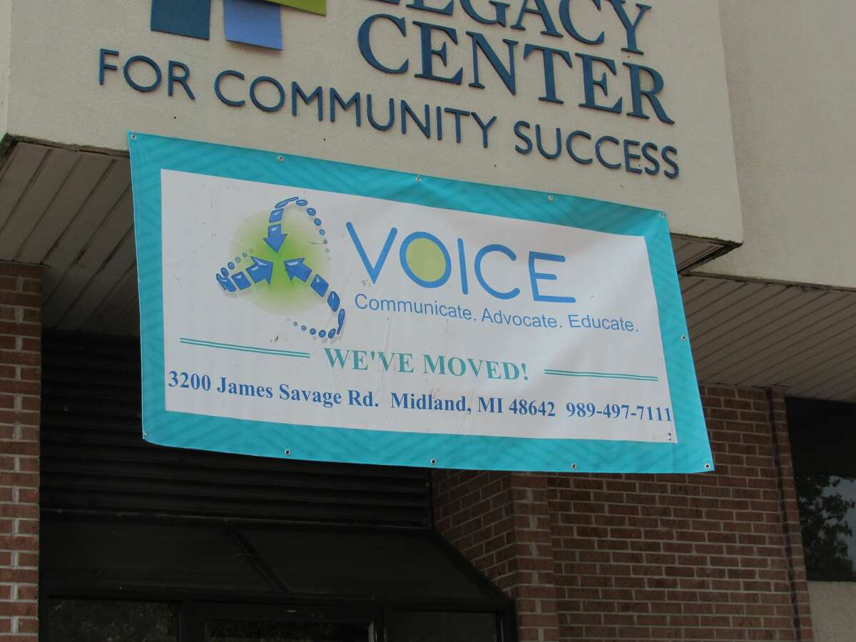 VOICE Inc. relocated its office to 3200 James Savage Road in Midland, the former site of The Legacy Center for Community Success.